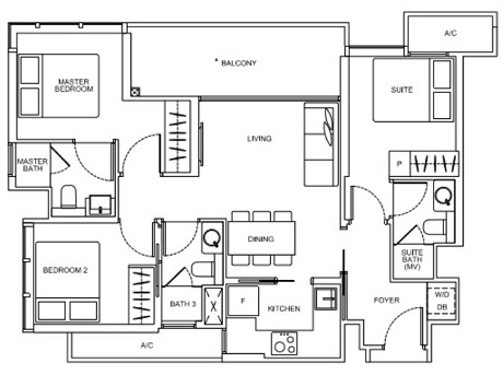 Arena Residences Floor Plan