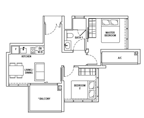 Fyve Derbyshire Floor Plan A2