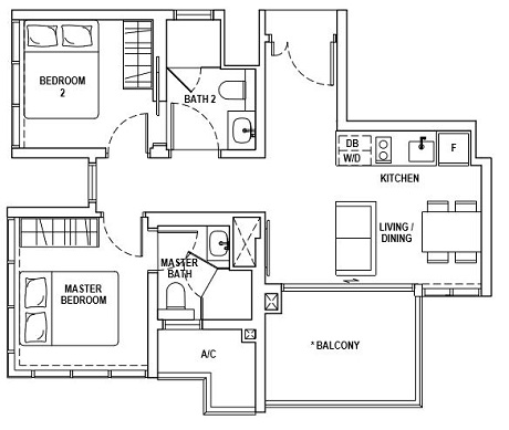 Fyve Derbyshire Floor Plan A3