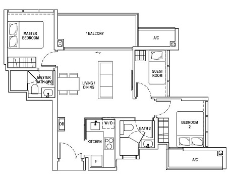 Fyve Derbyshire Floor Plan