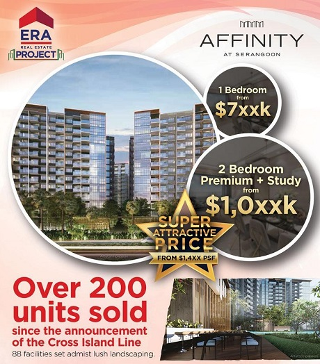 Affinity A Serangoon more than 200 units sold