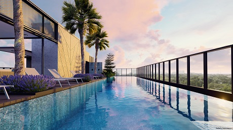Arena Residences Pool View