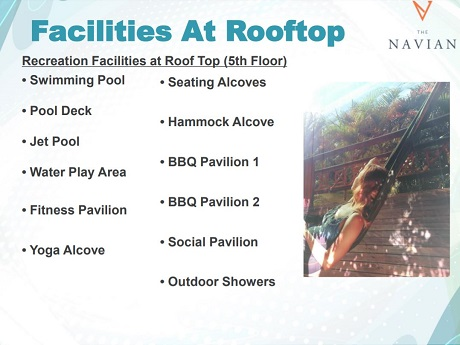 The Navian Facilities at Rooftop
