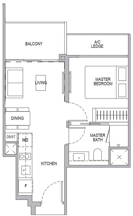 Whistler Grand 1 Bedroom A1