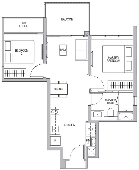 Whistler Grand 2 Bedroom B2