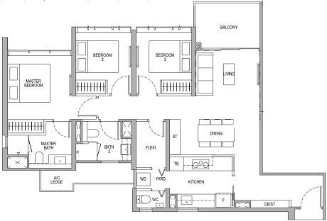 Whistler Grand 3 Bedroom Premium Plus Flexi