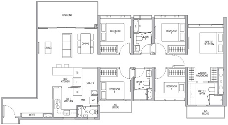 Whistler Grand 5 Bedroom E1